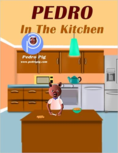 Art for Radio Interview: Pedro in the kitchen by Akeem Akinbo by Akeem Akinbo