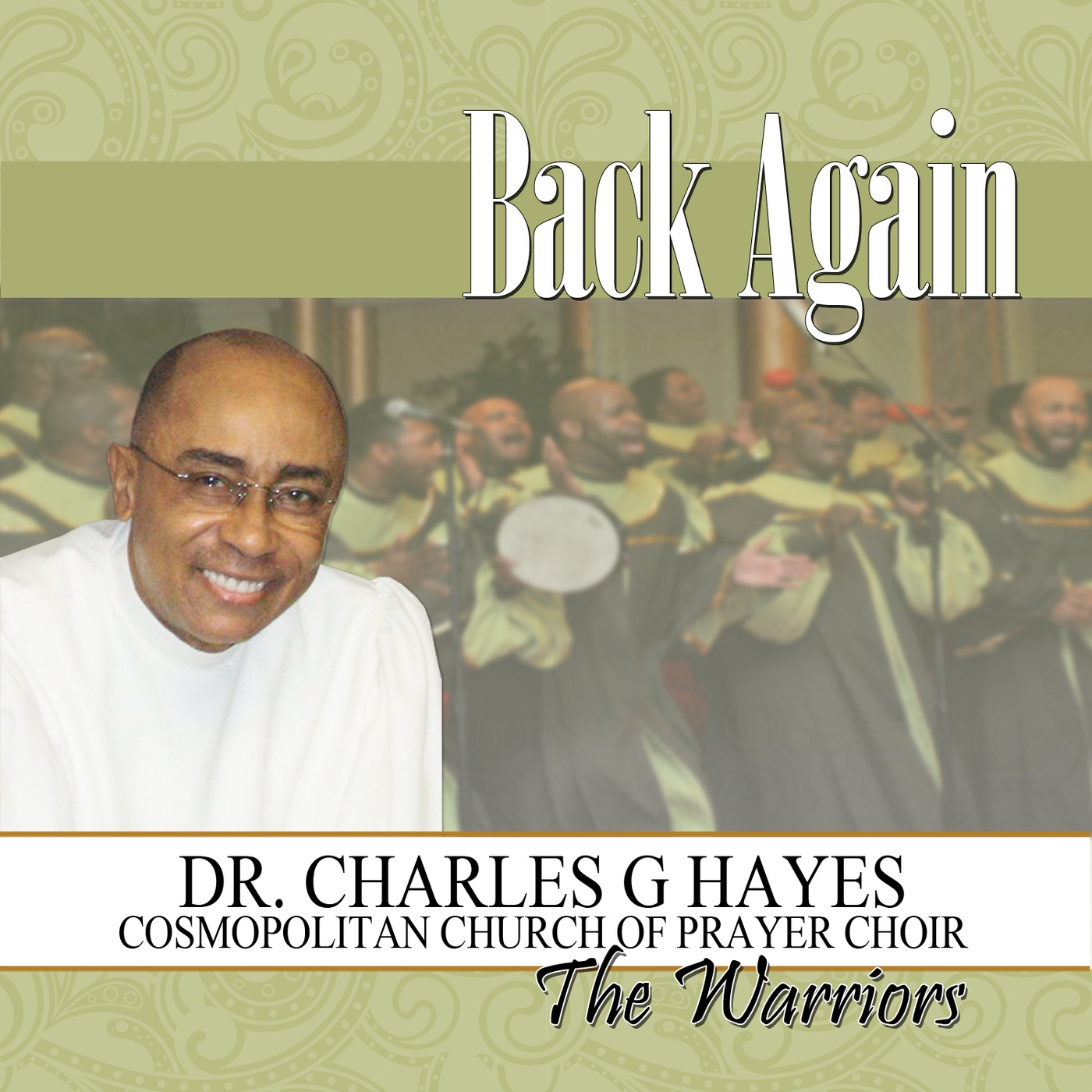 Art for Right There by Dr. Charles G. Hayes & The Cosmopolitan Church of Prayer Choir