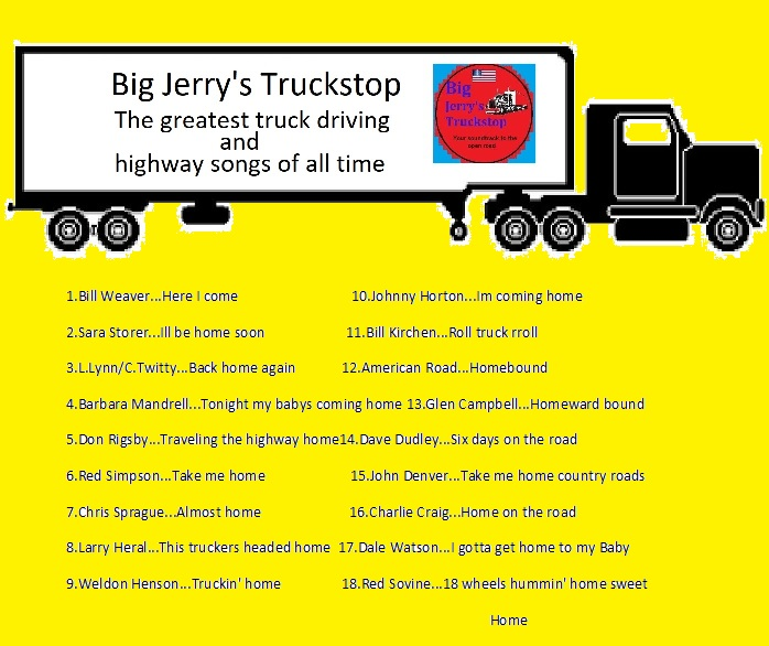 Art for Big jerrys Truckstop Radio show by Untitled Artist