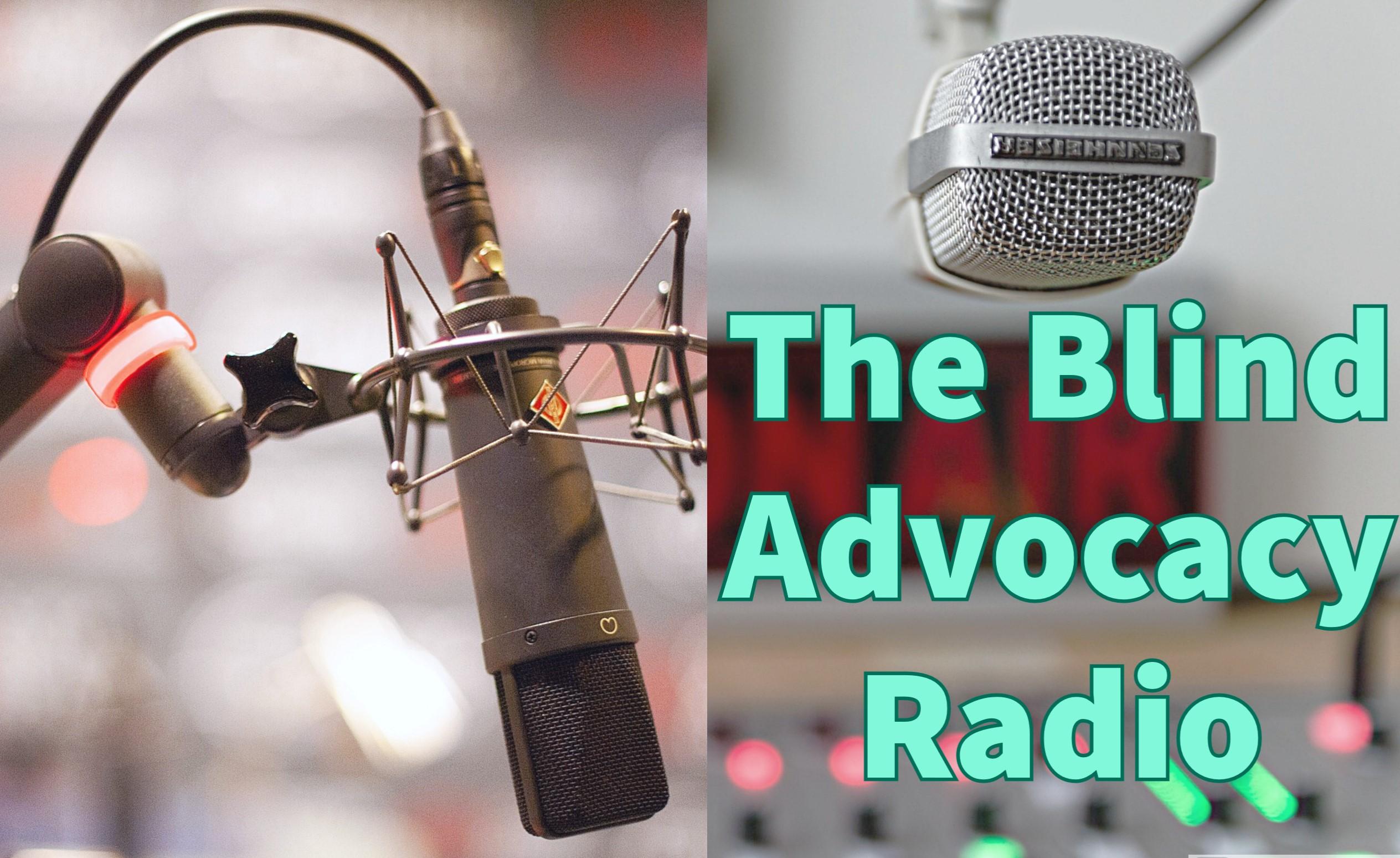The Blind Advocacy Radio logo