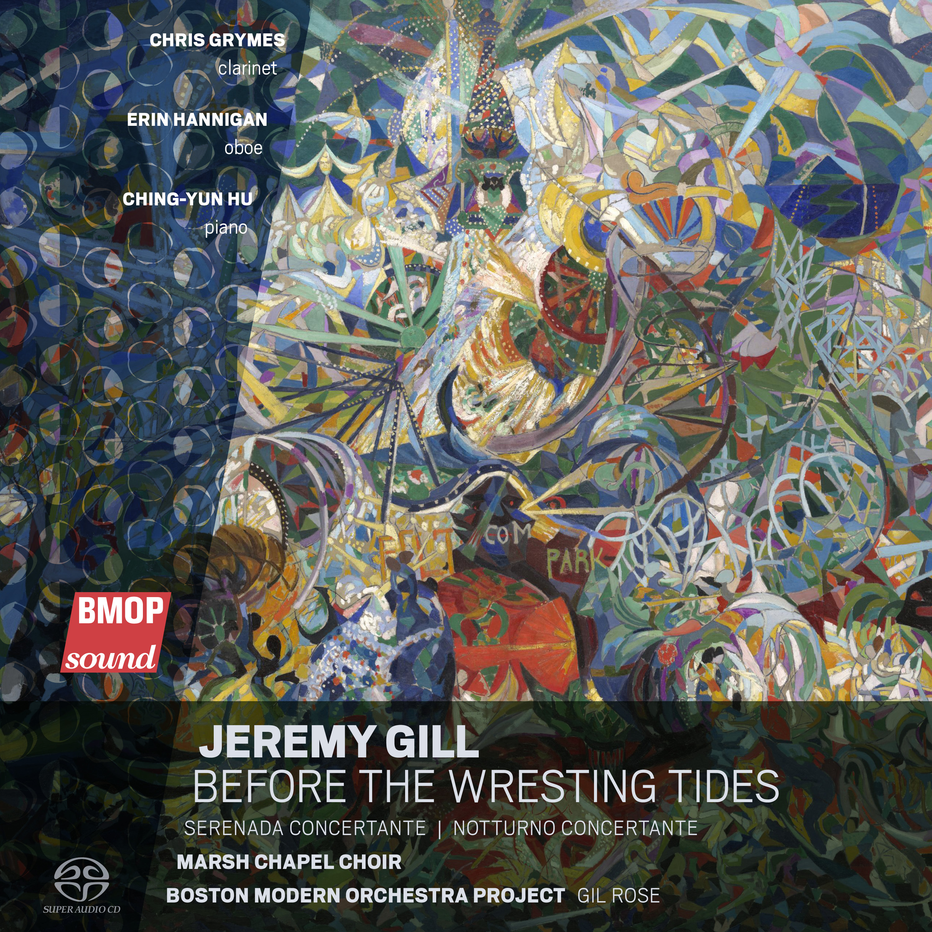 Art for Serenada Concertante by Jeremy Gill by Erin Hannigan, oboe