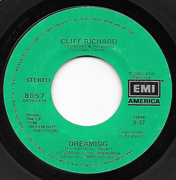 Art for Dreaming by Cliff Richard