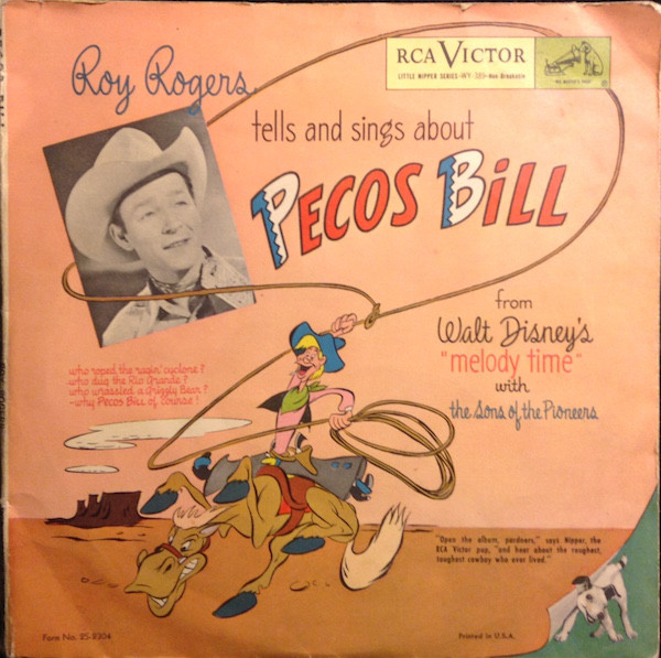 Art for Pecos Bill by Roy Rogers