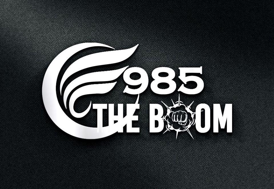 WTVR 985 The Boom logo