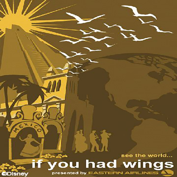 Art for If You Had Wings Line Queue Narration & Song by Buddy Baker