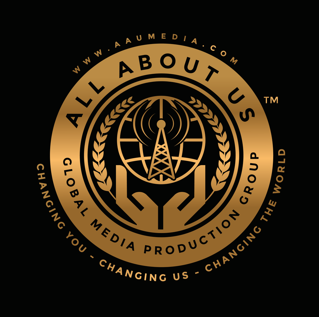 ALL ABOUT US RADIO logo