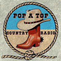 Pop A Top Radio - We're Keeping It Country! logo