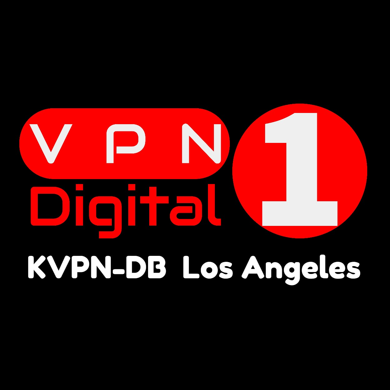 VPN Digital 1 (KVPN-DB Los Angeles) logo
