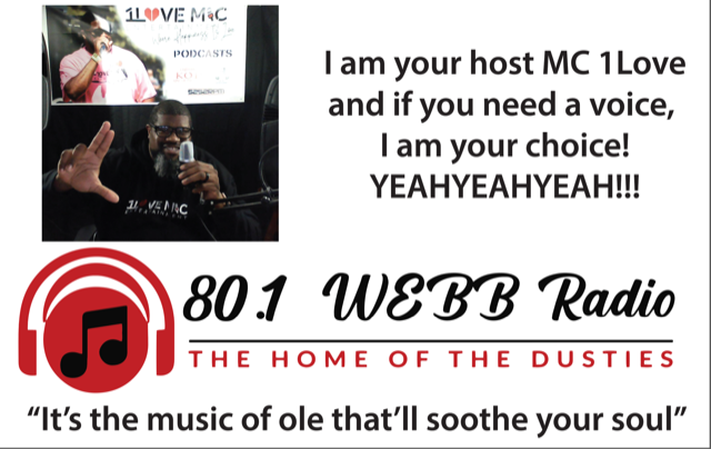 80.1 WEBB THE HOME OF THE DUSTIES logo