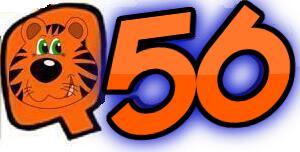 Q56  Oldies Miami Tiger Radio  logo