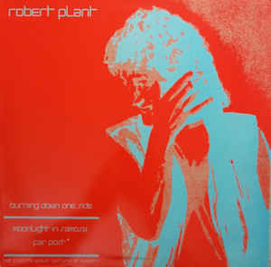 Art for Burning Down One Side by Robert Plant