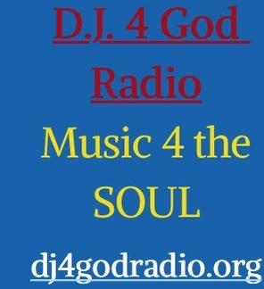 DJ 4 God Radio logo