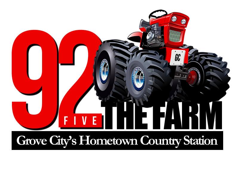 Grove City Country - 92Five The Farm logo