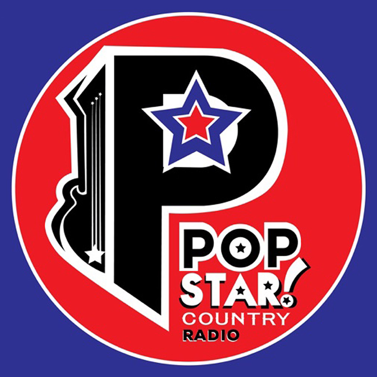 Popstar! Country Radio logo
