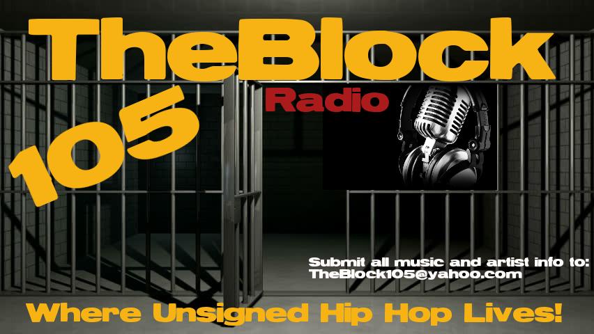 The Block 105 Radio logo