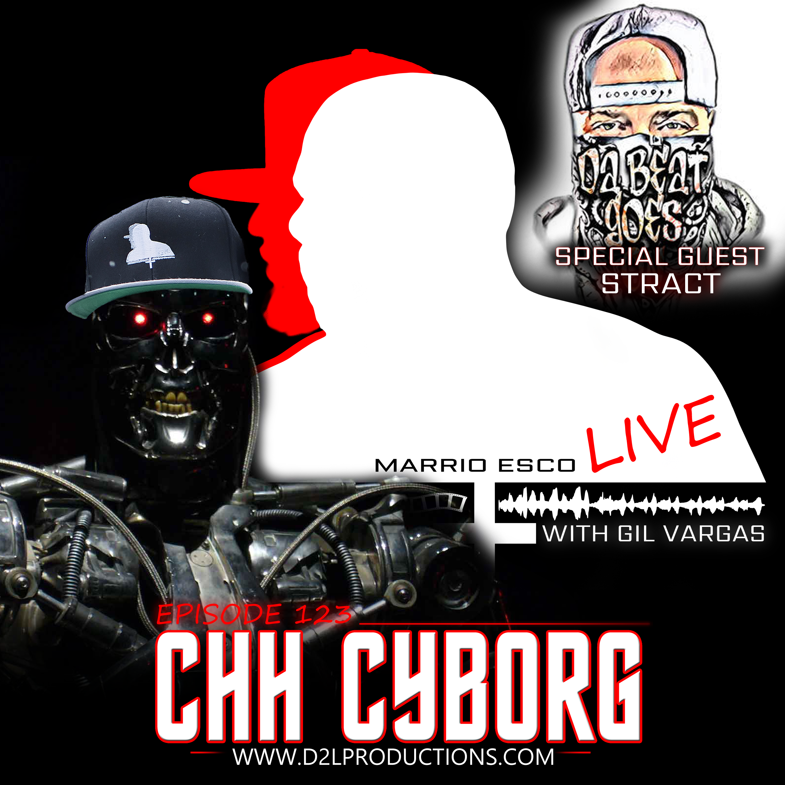 Art for CHH Cyborg by Marrio Esco, Gil Vargas, Stract