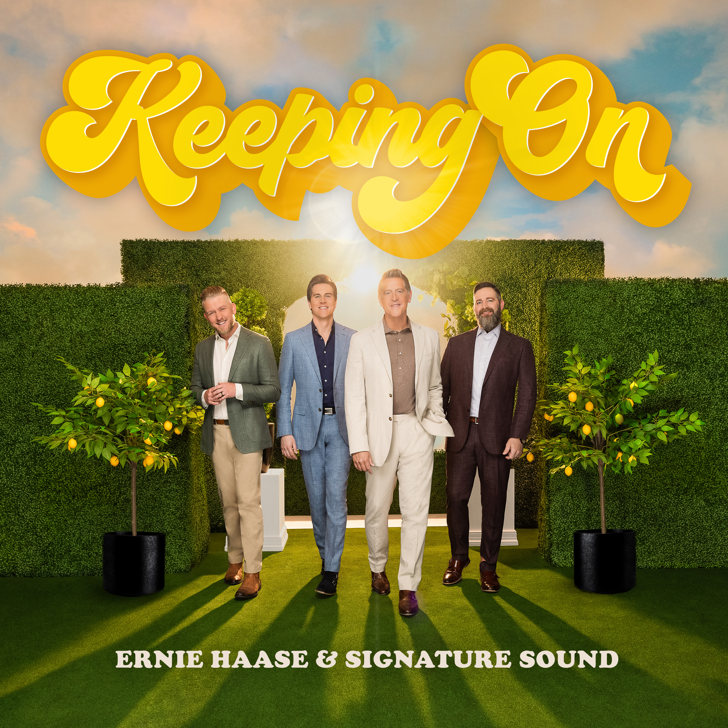 Art for Keep On Keeping On by Ernie Haase & Signature Sound