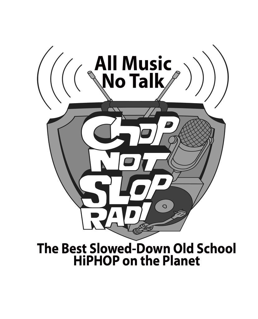ChopNotSlop Throwbacks logo