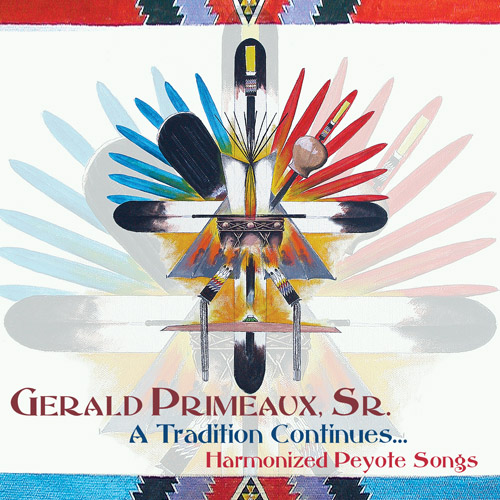 Art for Four Harmonized Peyote Songs by Gerald Primeaux