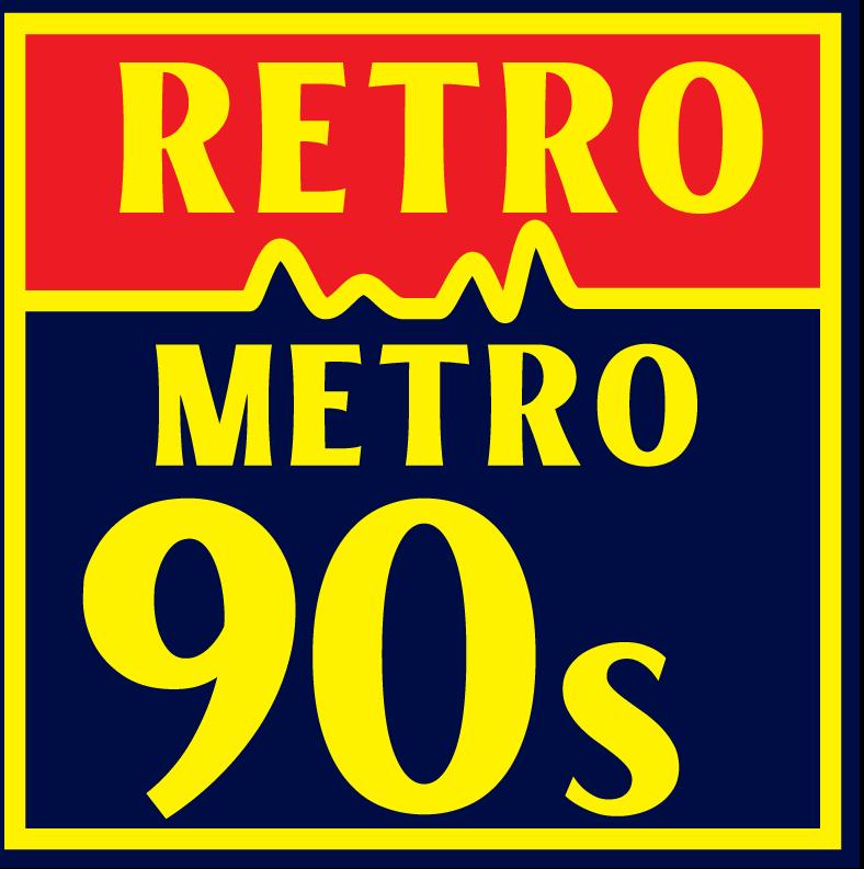 Retro Metro 90s logo