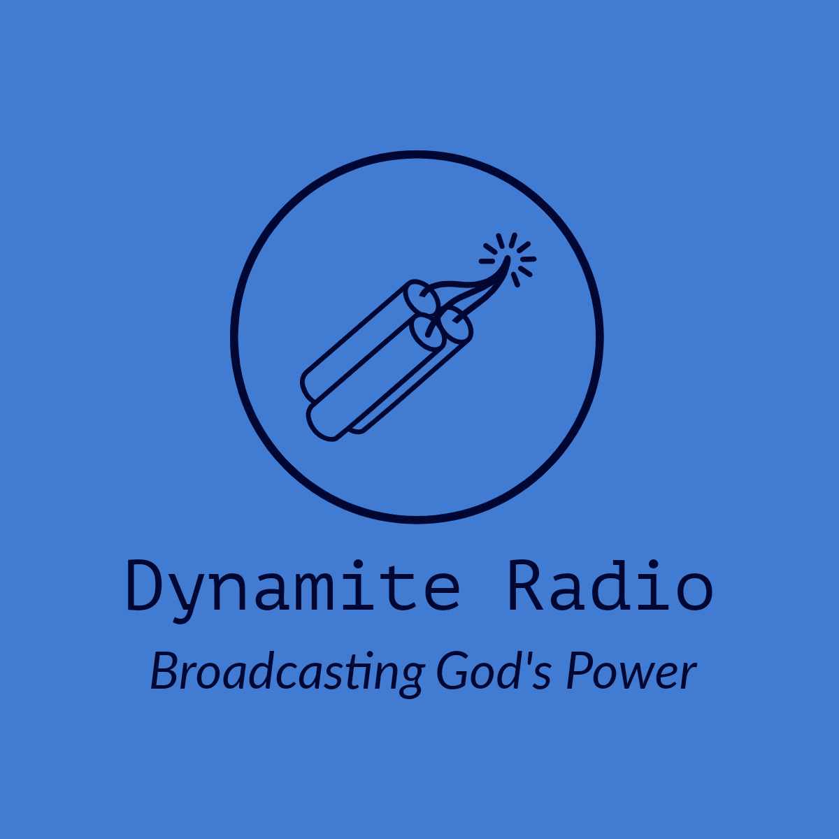 Art for Dynamiteradio.live by Broadcasting the Power of God