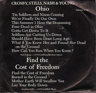 Art for Ohio by Neil Young & Crosby, Stills, Nash & Young