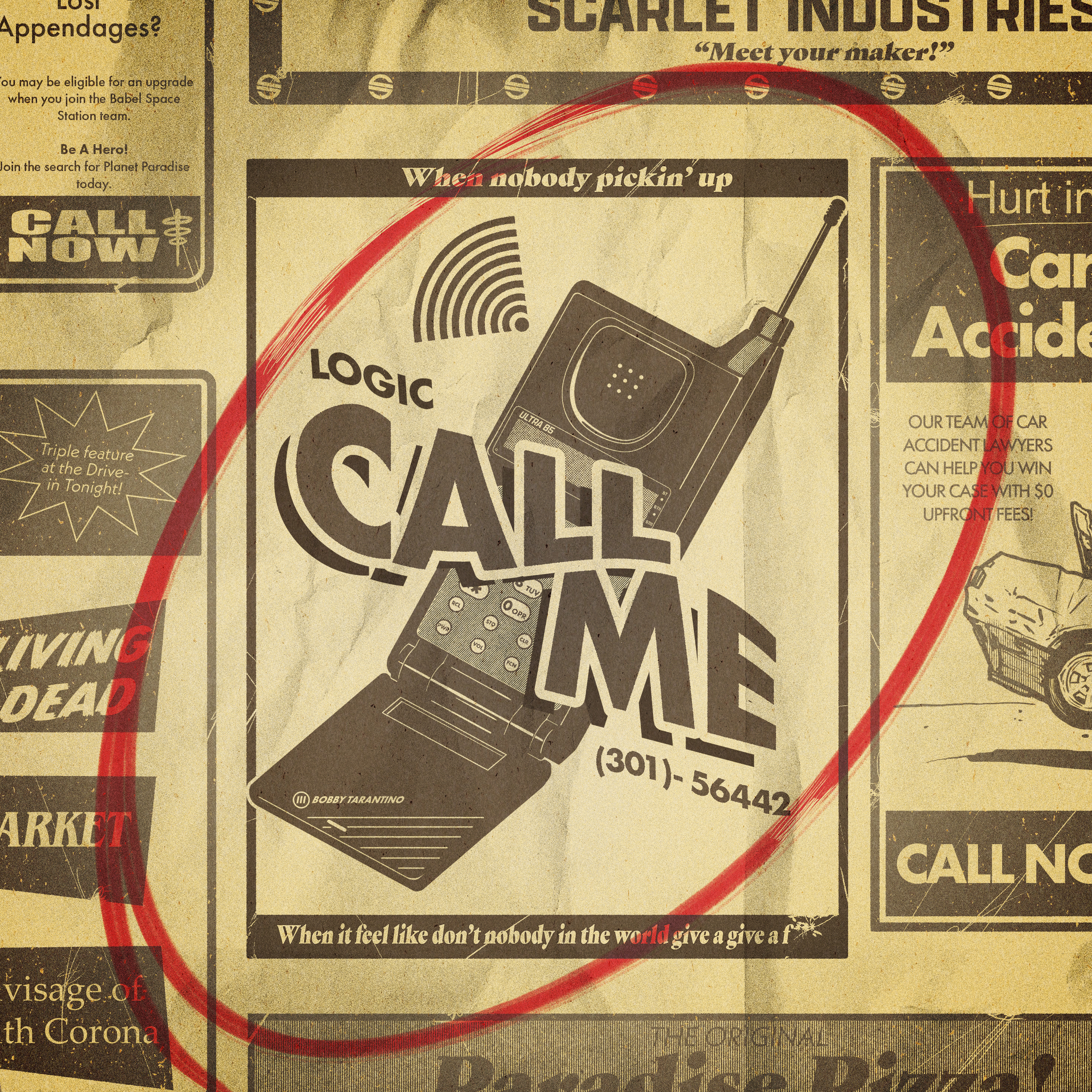 Art for Call Me  by Logic