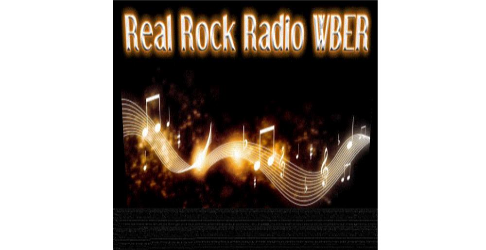 Real Rock WBER logo