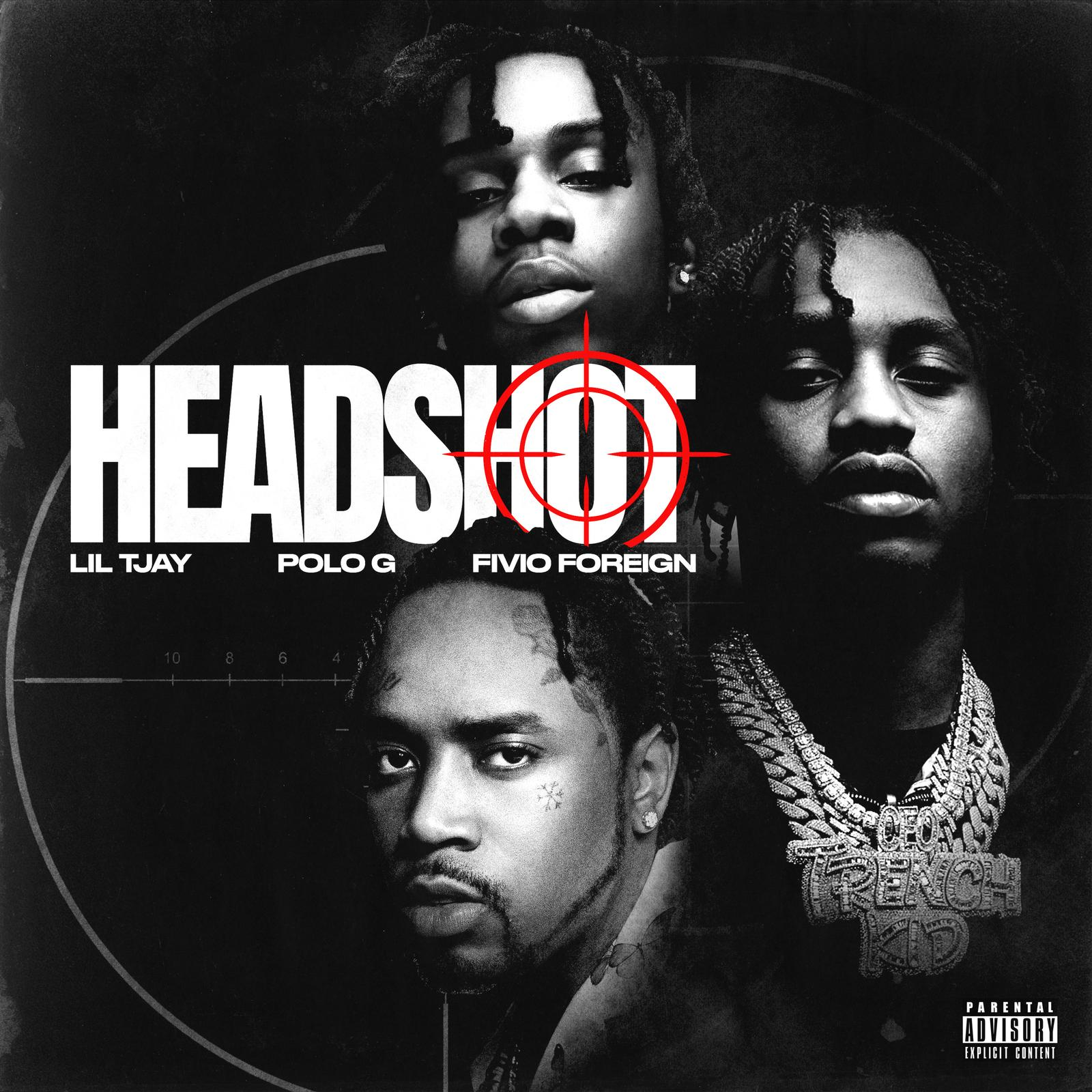 Art for Headshot (Dirty) by Lil Tjay, Polo G & Fivio Foreign
