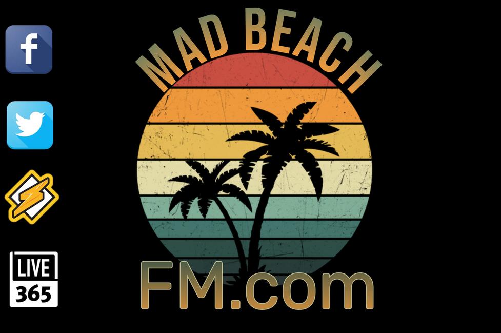 MadBeachFM  Madeira Beach Florida logo