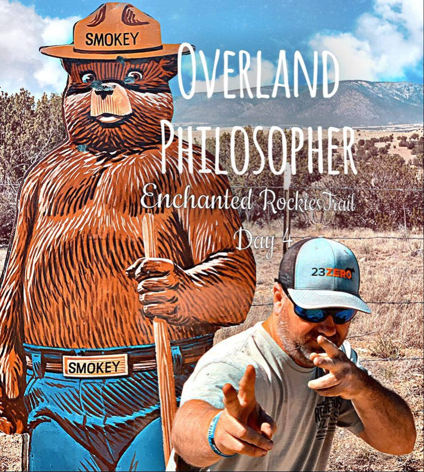 Art for Enchanted Rockies Trail Day 4 by The Overland Philosopher