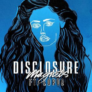 Art for Magnets ft. Lorde by Disclosure
