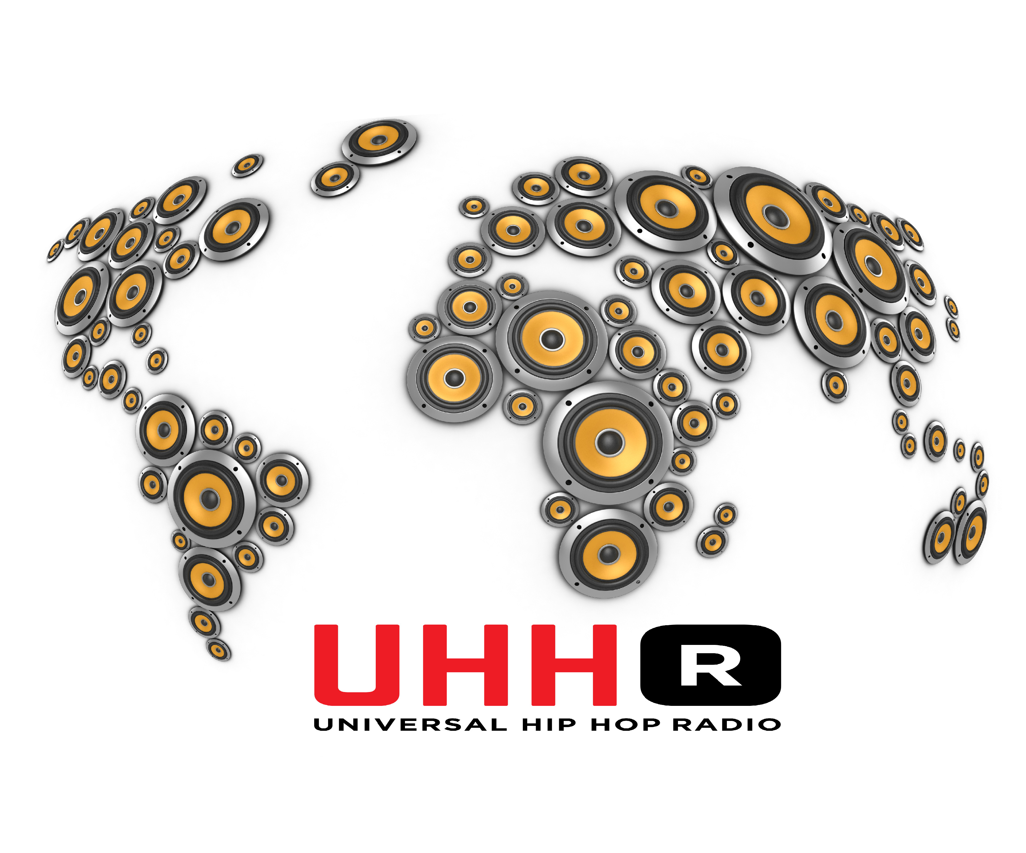 The Official Record of Hip Hop  UHHRadio logo