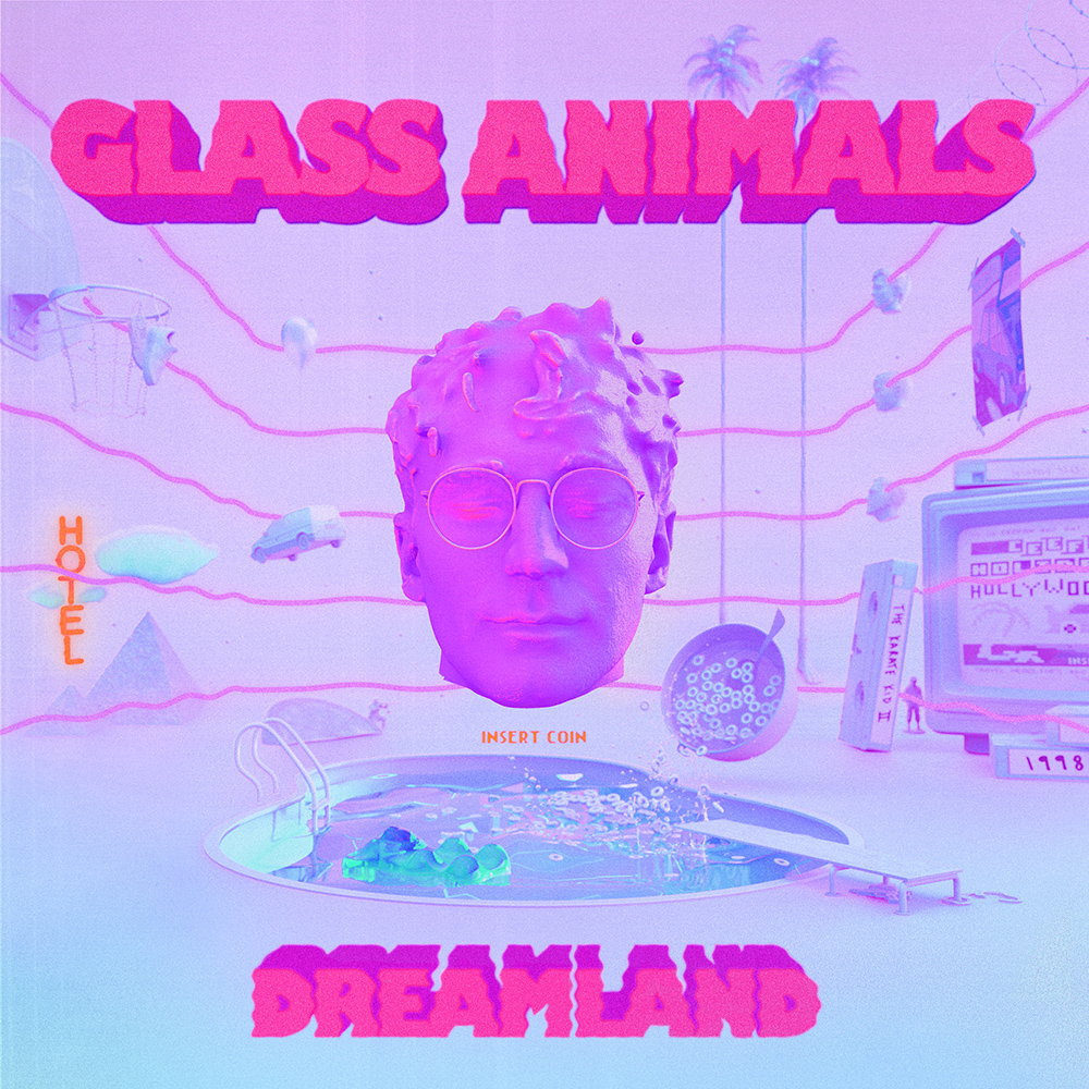 Art for Heat Waves (C) by Glass Animals