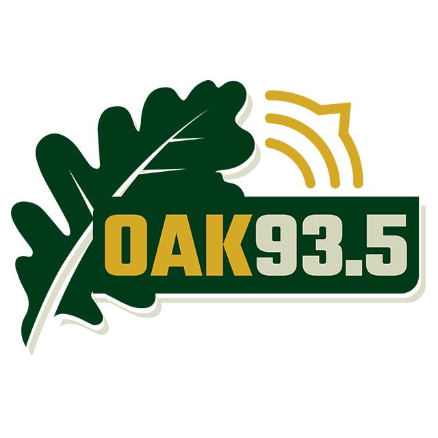 WRLY-LP Oak 93.5 logo