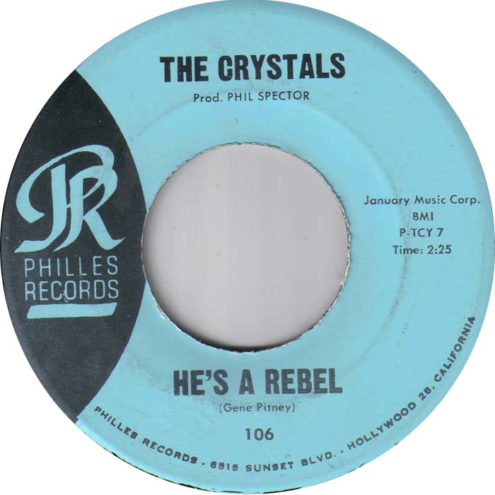Art for He's a Rebel by The Crystals