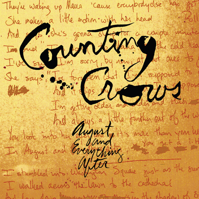 Art for Mr. Jones by Counting Crows