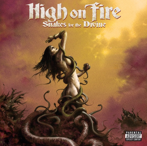 Art for Snakes for the Divine by High On Fire