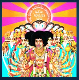 Art for EXP by Jimi Hendrix