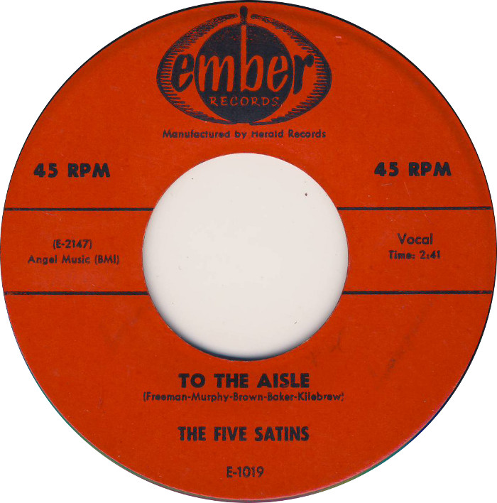 Art for To the Aisle by The Five Satins