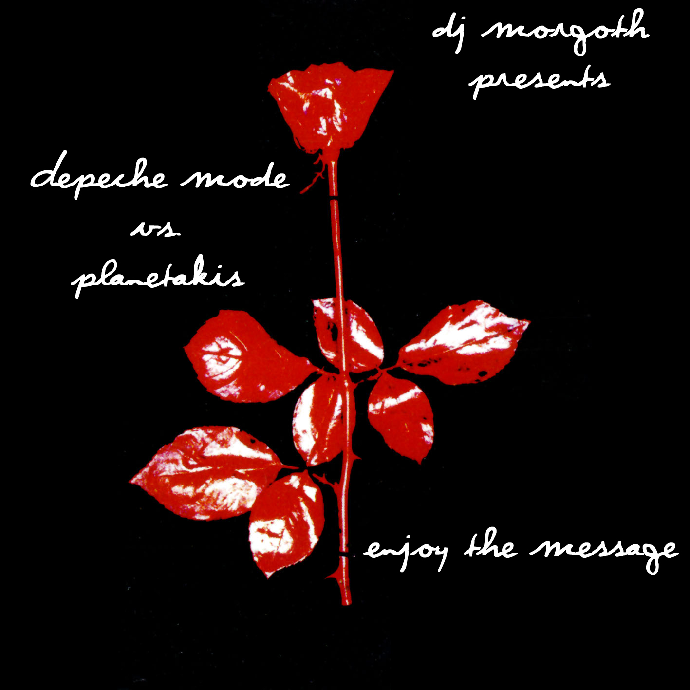 Art for Enjoy The Message  [Depeche Mode vs. Planetakis] by DJ Morgoth