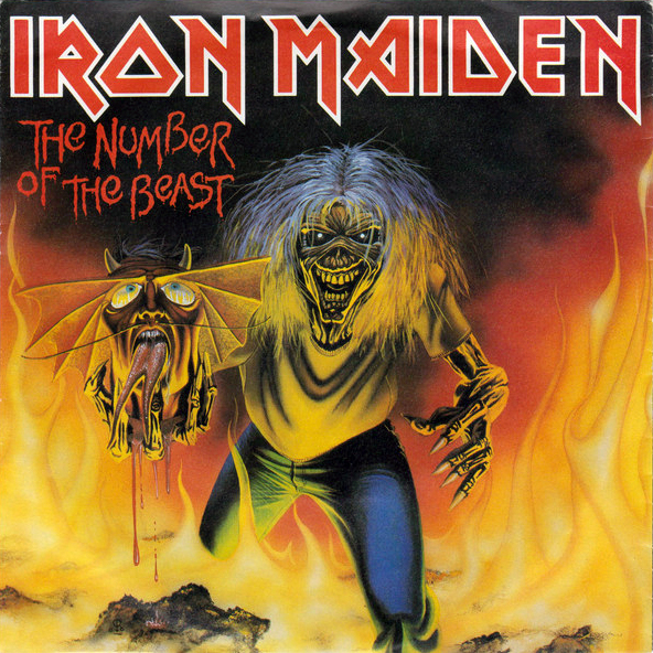 Art for The Number Of The Beast by Iron Maiden