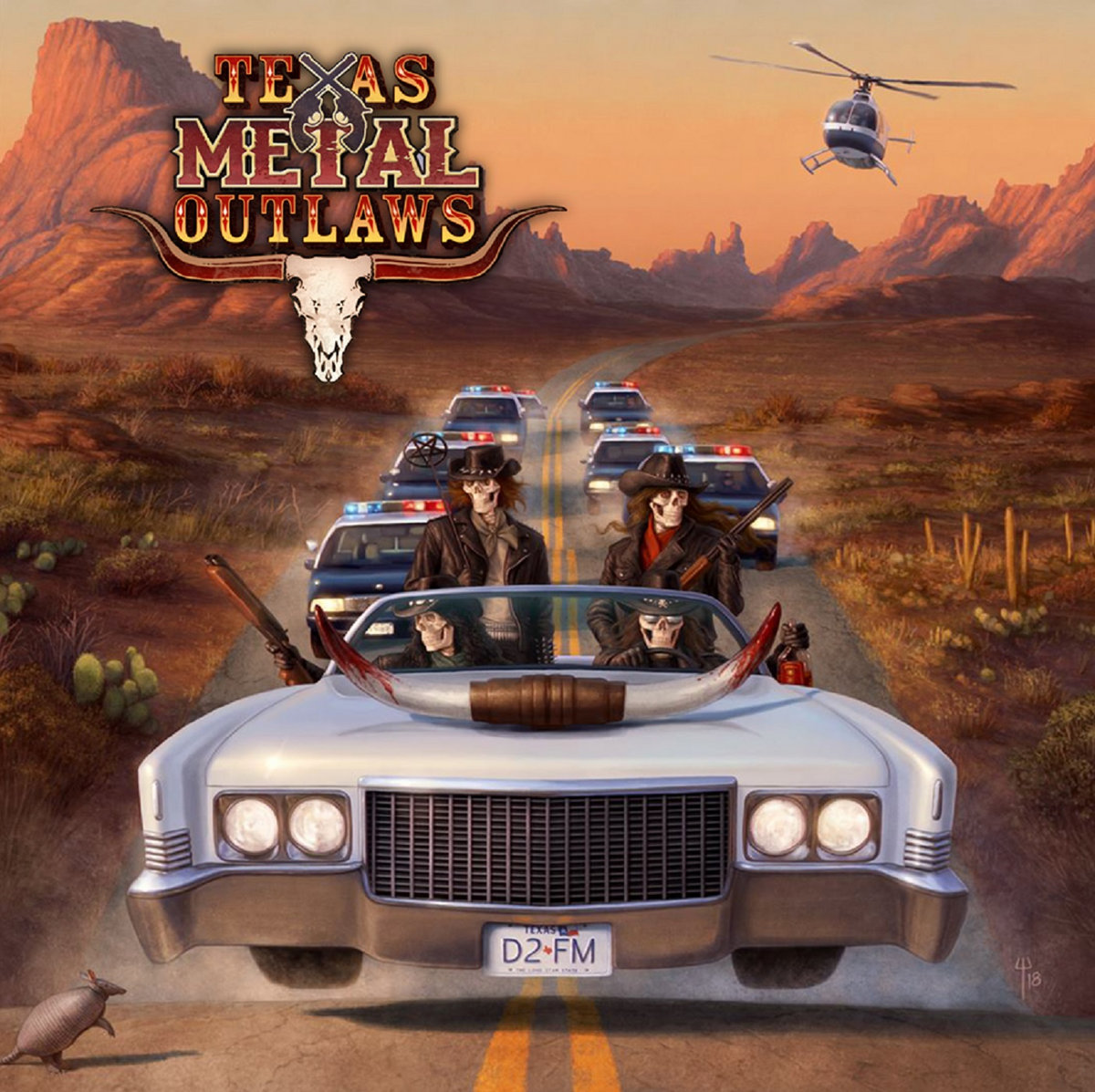 Art for Echoes of Memories by Texas Metal Outlaws