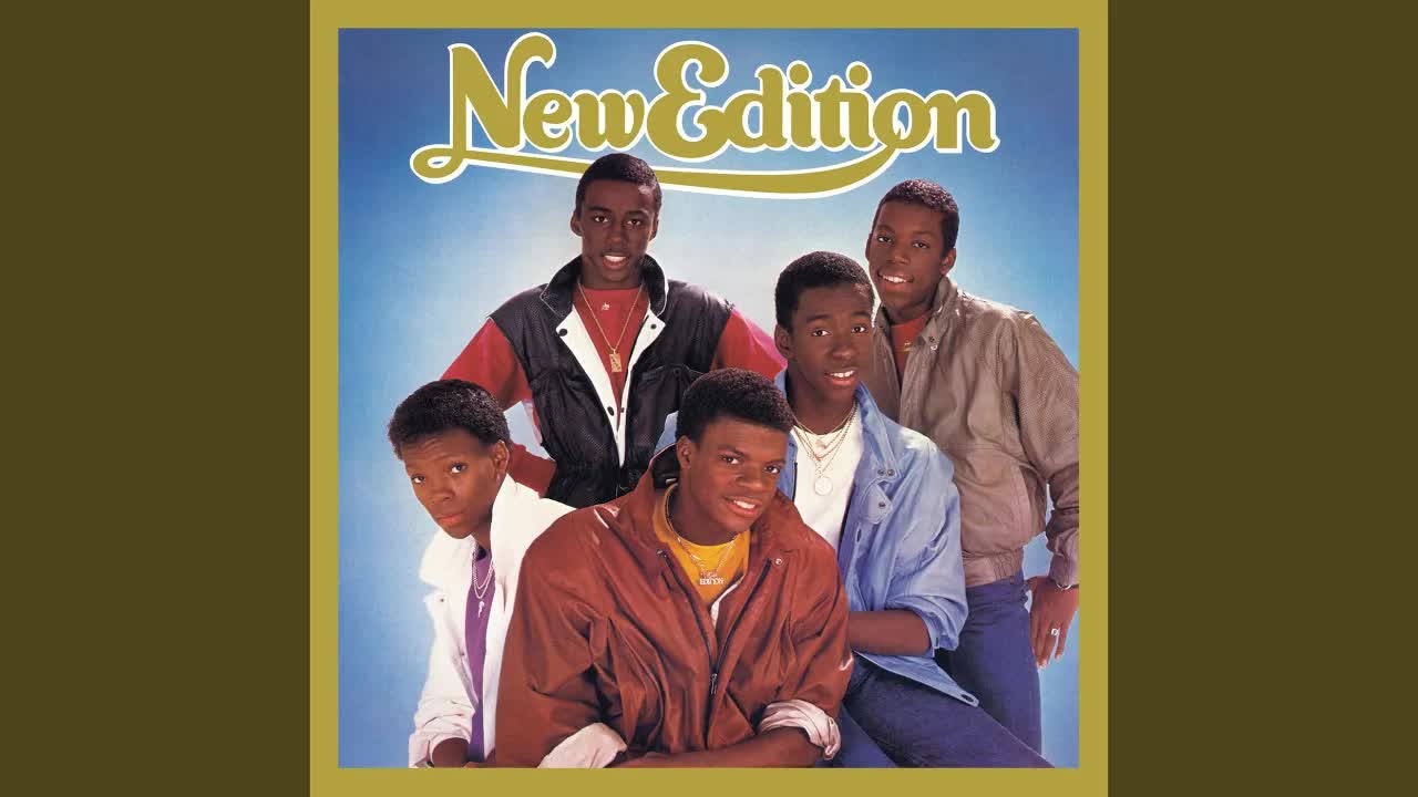 Art for Mr. Telephone Man by New Edition
