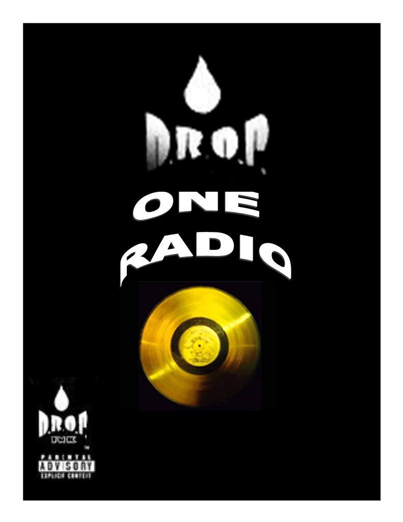 DROP ONE RADIO logo