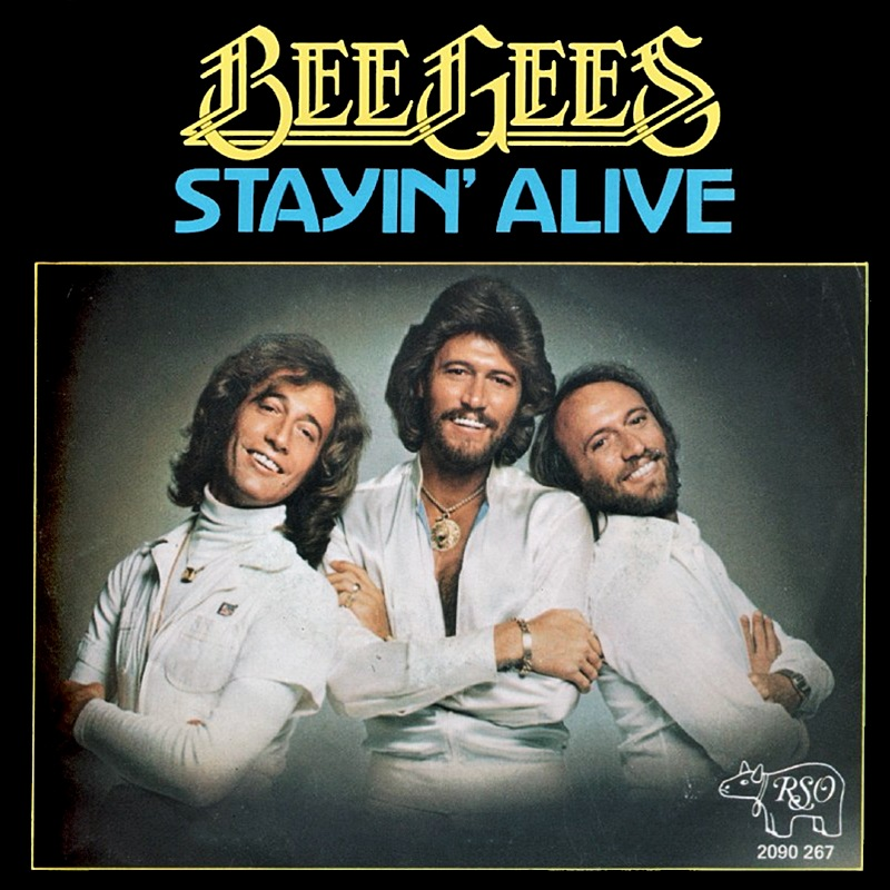 Art for Stayin' Alive by Bee Gees