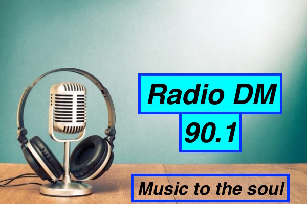 Radio DM 90.1 logo