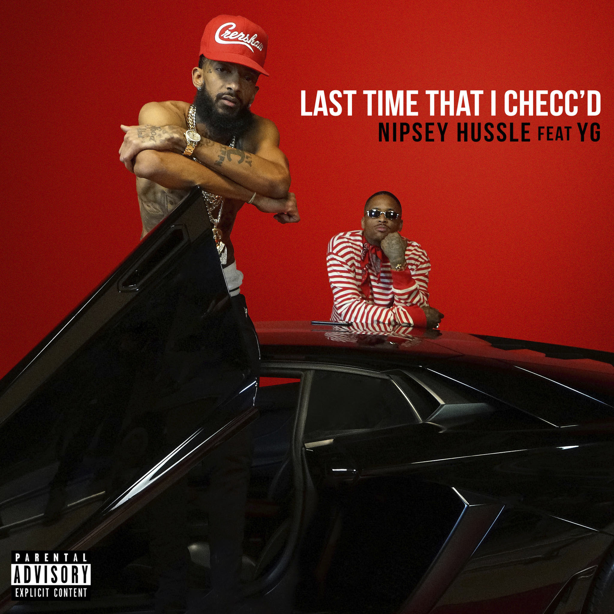 Art for Last Time That I Checc'd (Dj Rukus Intro Edit) (Dirty) by Nipsey Hussle Ft. YG