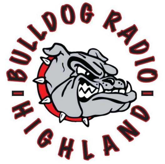 Bulldog Radio Highland logo