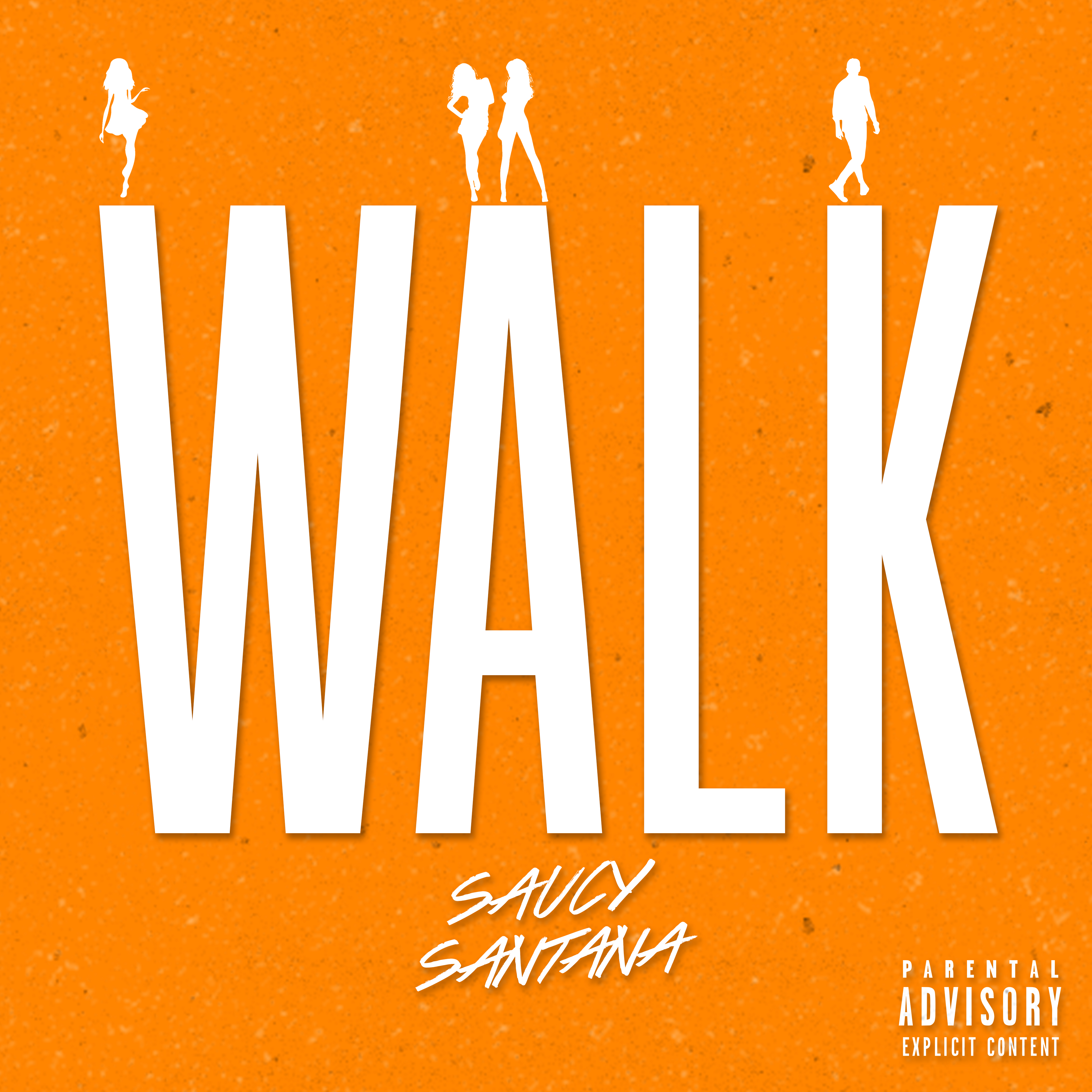 Art for Walk (Quick Hit Clean) by Saucy Santana